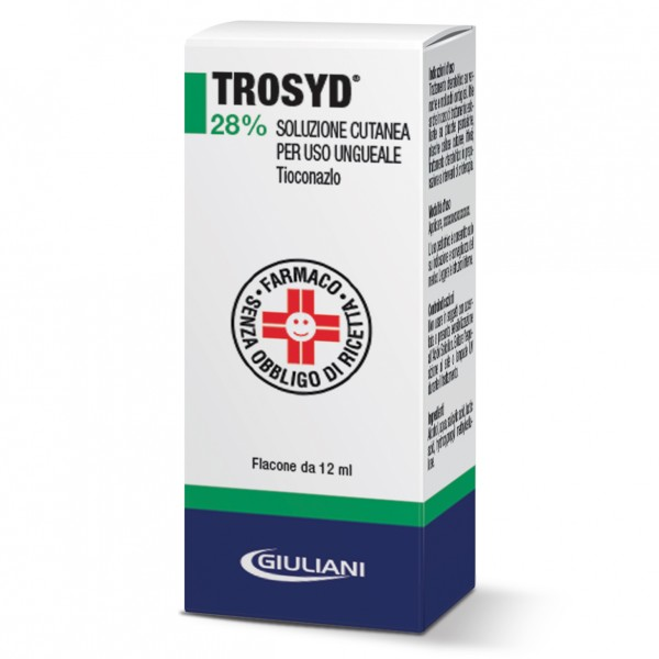 Trosyd Soluzione Cutanea per Uso Ungueale 12 ml 28%
