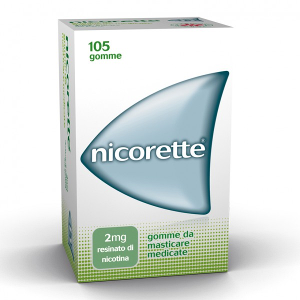 Nicorette 105 Gomme da Masticare 2mg