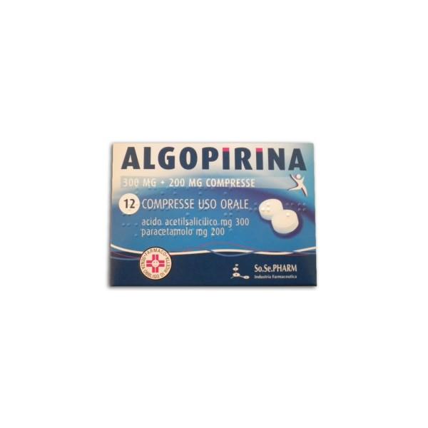 ALGOPIRINA 300+200mg 12 Cpr