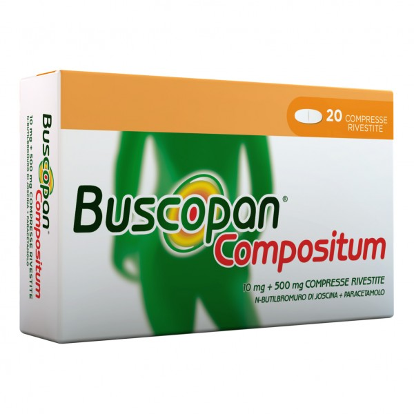 Buscopan Compositum 20 Compresse Rivestite