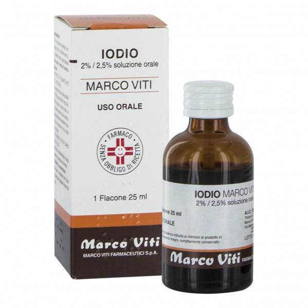 Iodio Os Soluz Mv*25ml