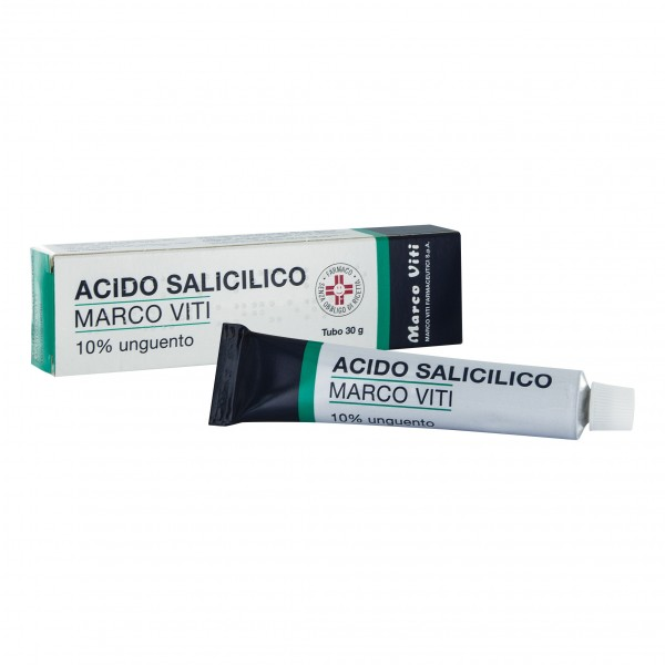 ACIDO Salic.Ung.10%  30g VITI