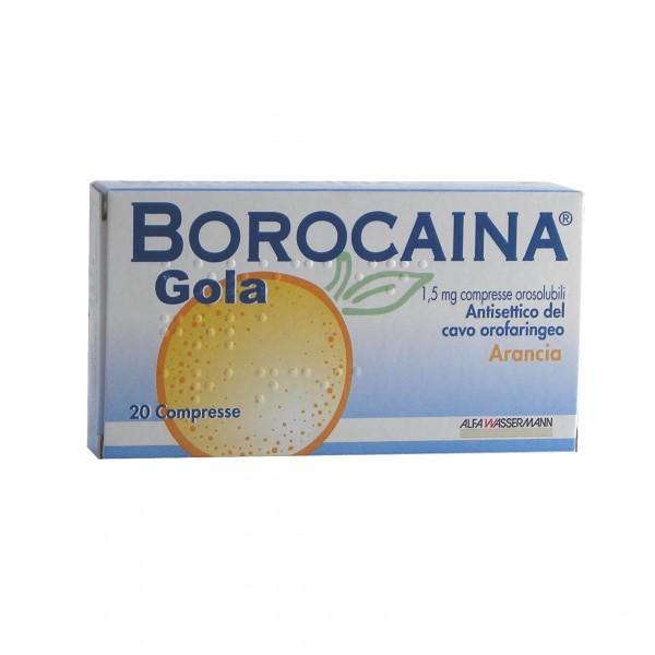 Borocaina Gola*20cpr 1,5mg Ara