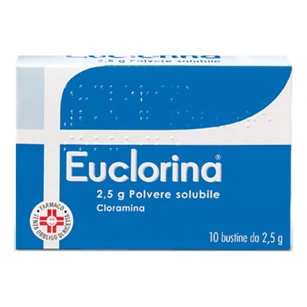 Euclorina Polvere Solubile 10 Bustine 2,5g