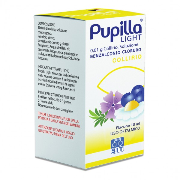 PUPILLA LIGHT Collirio 10ml