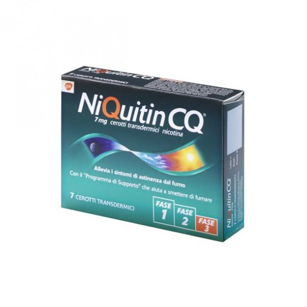 NIQUITIN CQ  7mg Cerotti