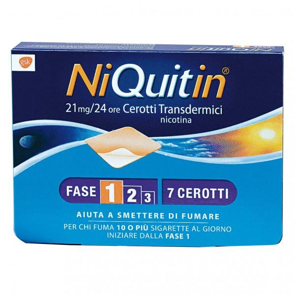NIQUITIN CQ 21mg Cerotti