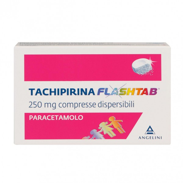Tachipirina Flashtab 12 compresse dispersibili 250 mg