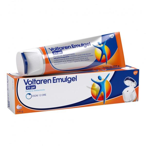 Voltaren Emulgel 2% Gel Antidolorifico 100g