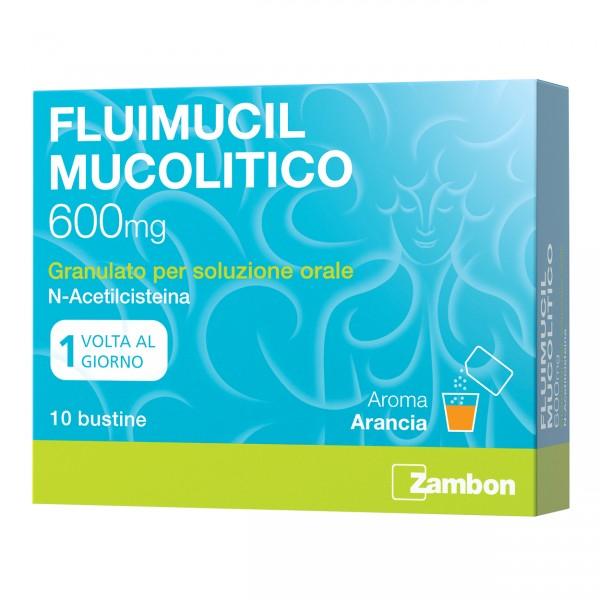 FLUIMUCIL 600mg Muc.10Bust.