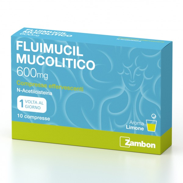 FLUIMUCIL 600mg 10 Cpr Eff.