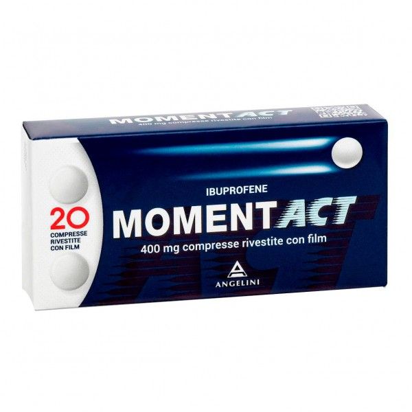 Momentact 20 Compresse Rivestite 400mg