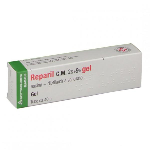 Reparil Gel 40g 2%+5%