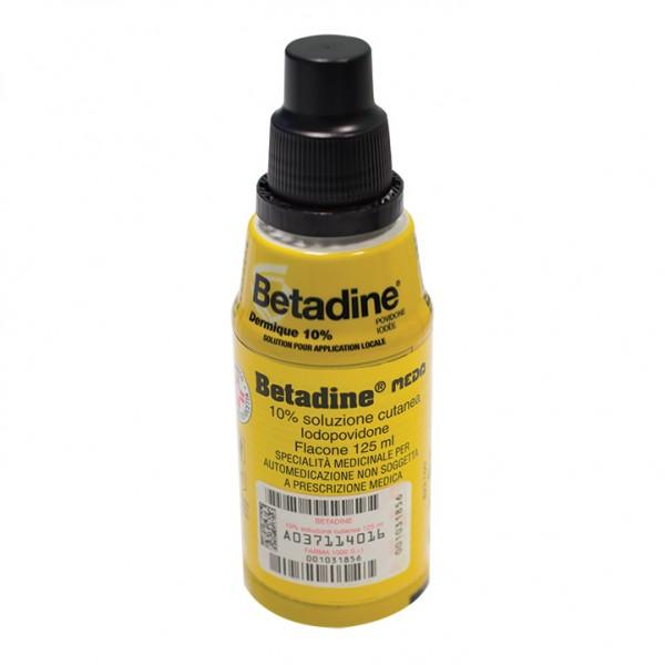 BETADINE*Sol.Cut.10%125mlF1000