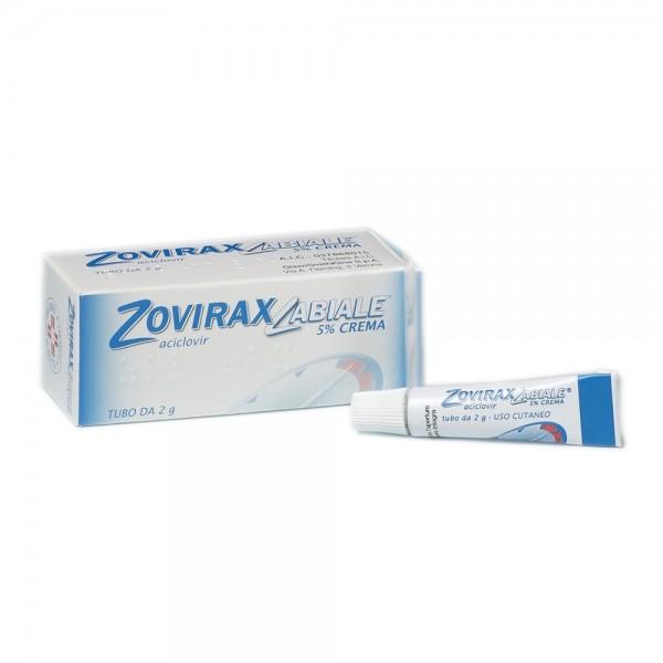 Zovirax Labiale Crema 2 g 5%