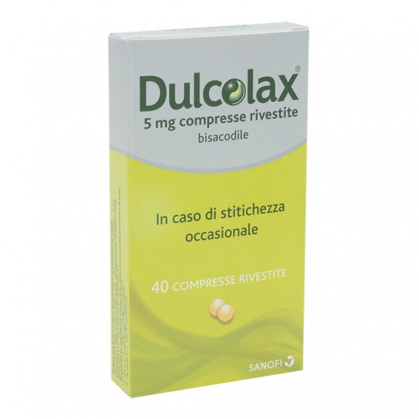 DULCOLAX*40 Cpr 5mg      F1000