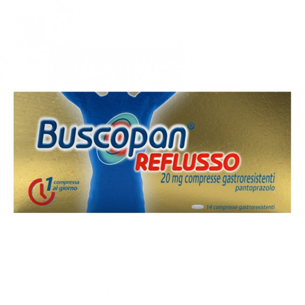 Buscopan Reflusso 14 compresse 20mg