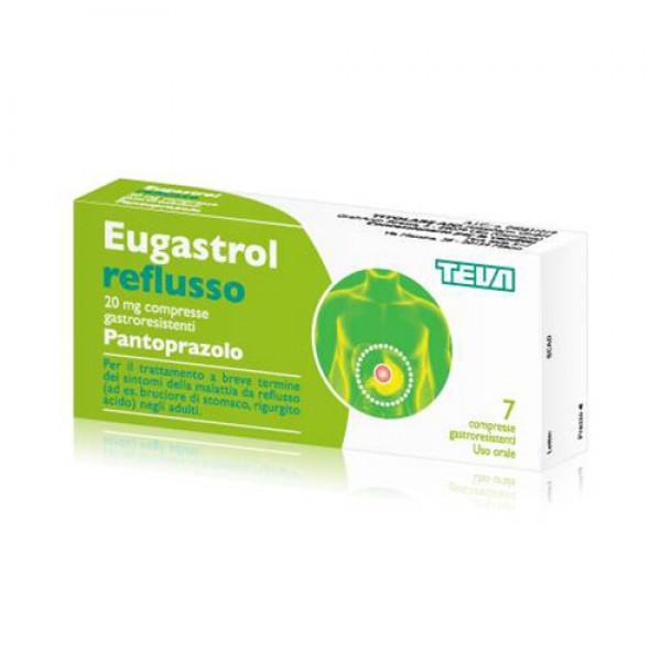 Eugastrol Reflusso*14cpr 20mg