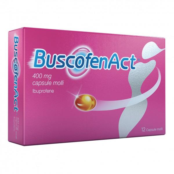 Buscofen Act 12 capsule 400 mg