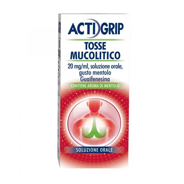 Actigrip Sciroppo Mucolitico Tosse Grass...