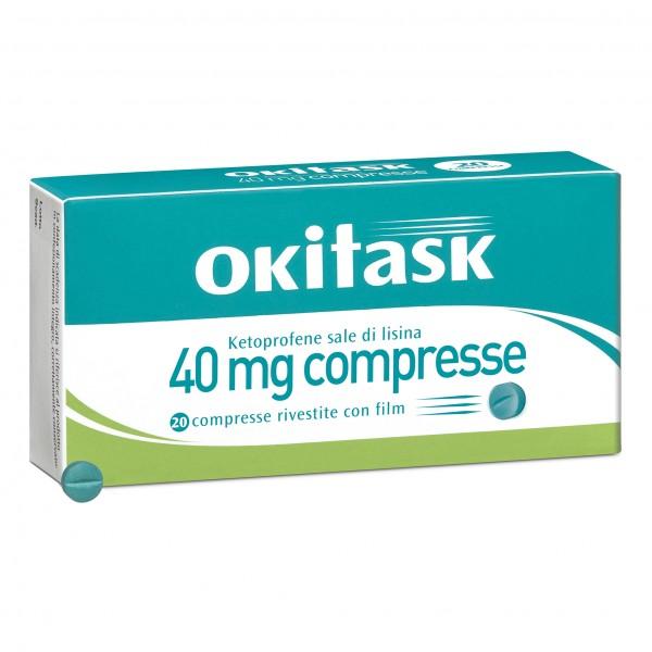 OKITASK 40mg 20 Compresse