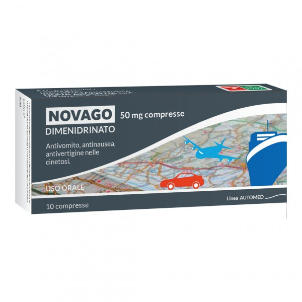 NOVAGO 10 Cpr 50mg N.A.