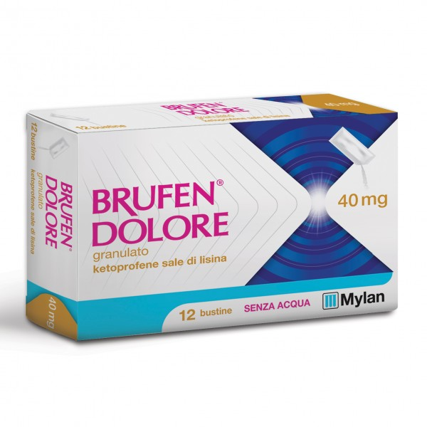 BRUFEN Dolore 12 Bust.40mg