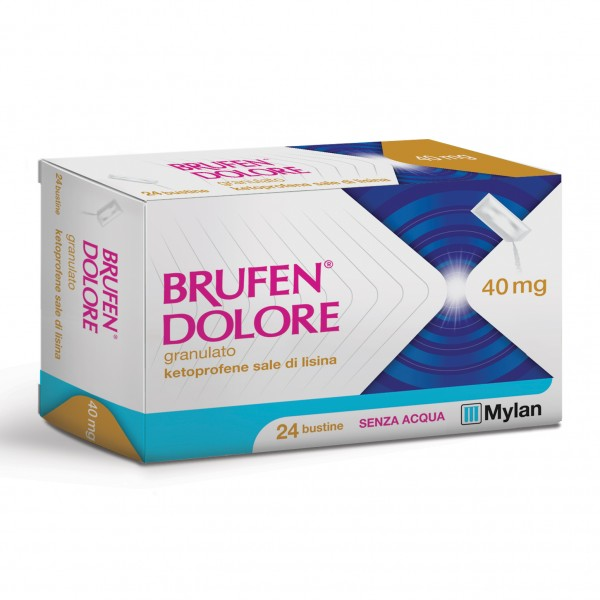 BRUFEN Dolore 24 Bust.40mg
