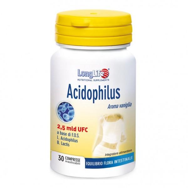 LONGLIFE ACIDOPHILUS 30 Tav.