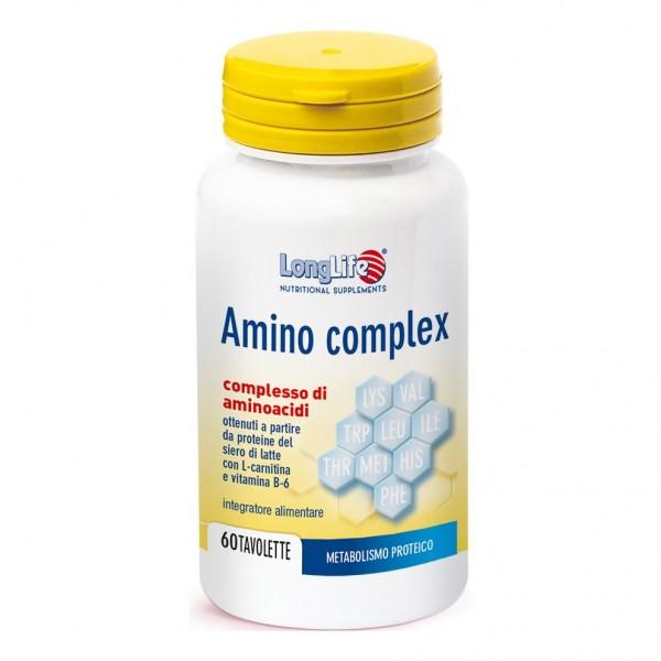 LONGLIFE AMINOCOMPLEX 60 Tav.