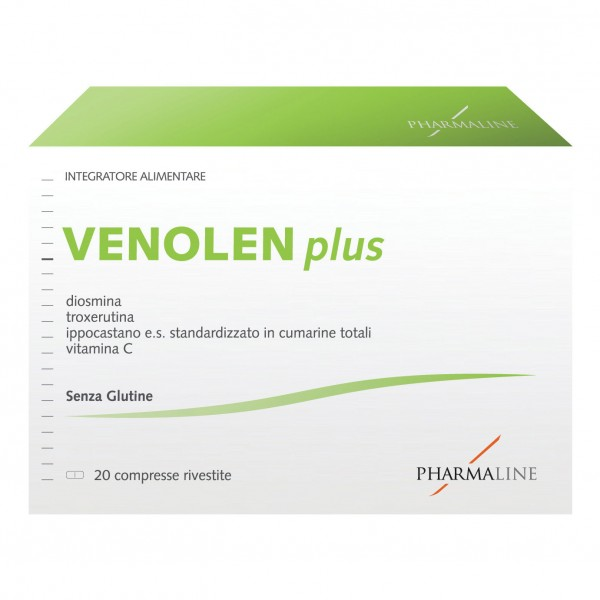 Pharmaline VENOLEN Plus 20 Compresse 940...