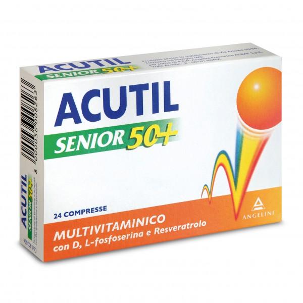 Acutil Multivitaminico Senior 50+ 24 com...