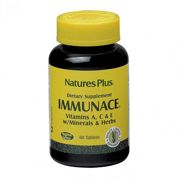 Immunace - Integratore alimentare per le difese immunitarie - 60 tavolette