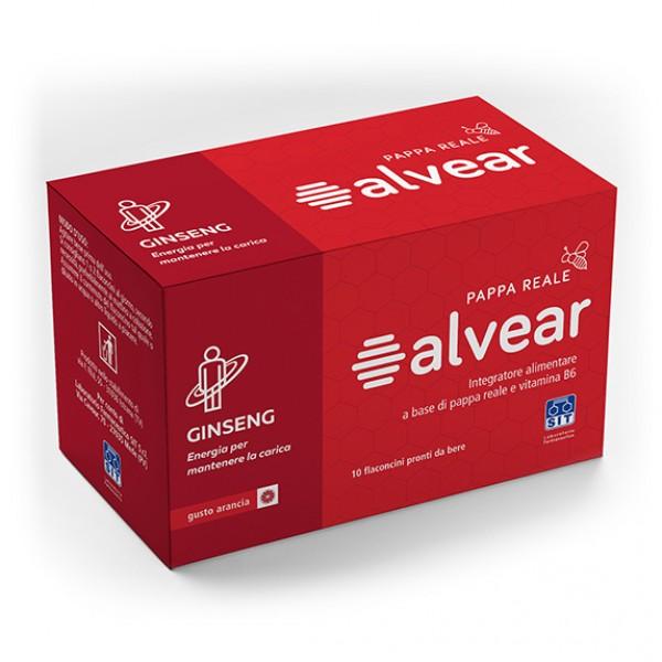 ALVEAR C/Ginseng 10fl.10ml