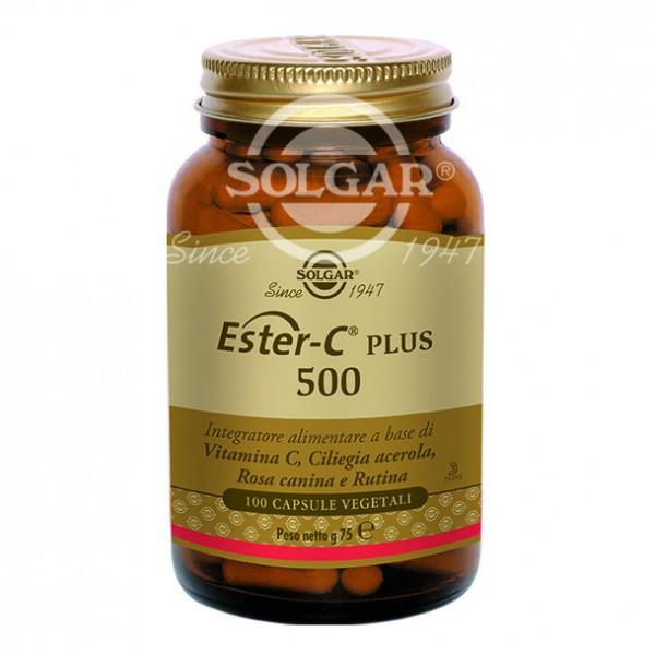 ESTER C PLUS  500 100CpsSOLGAR