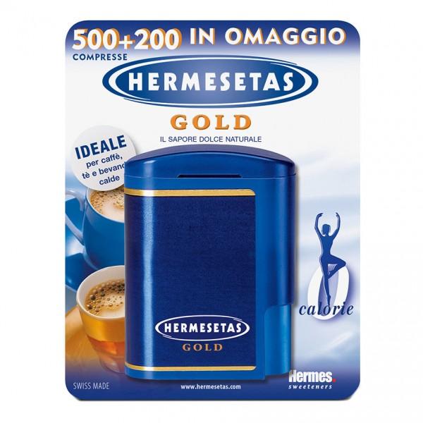 Hermesetas Gold 500 + 200 compresse