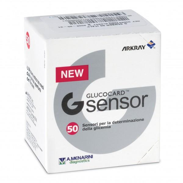 Glucocard G Sensor 50 Strisce per Glicem...