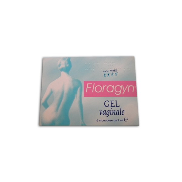FLORAGYN Gel Vaginale 6 Tub.
