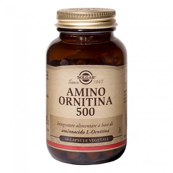 AMINO ORNITINA*500 50 Cps SOLG