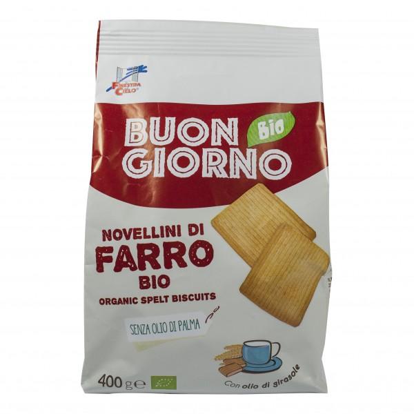 FsC Bisc.Farro Novellini 400g
