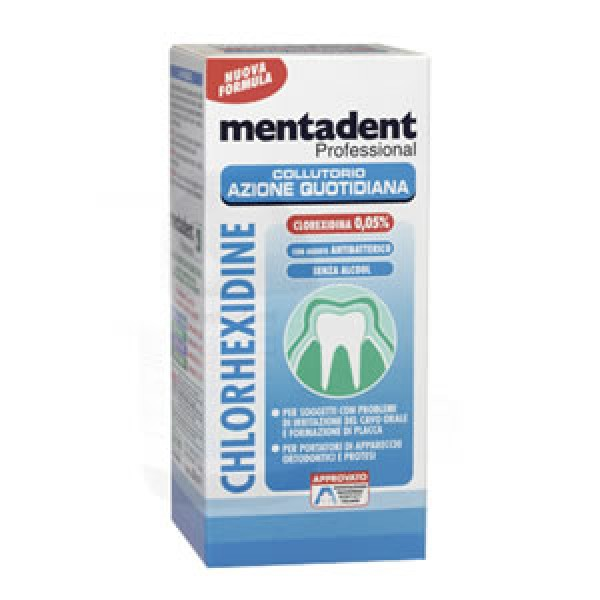 MENTADENT Coll.Chx 0,2% 200ml
