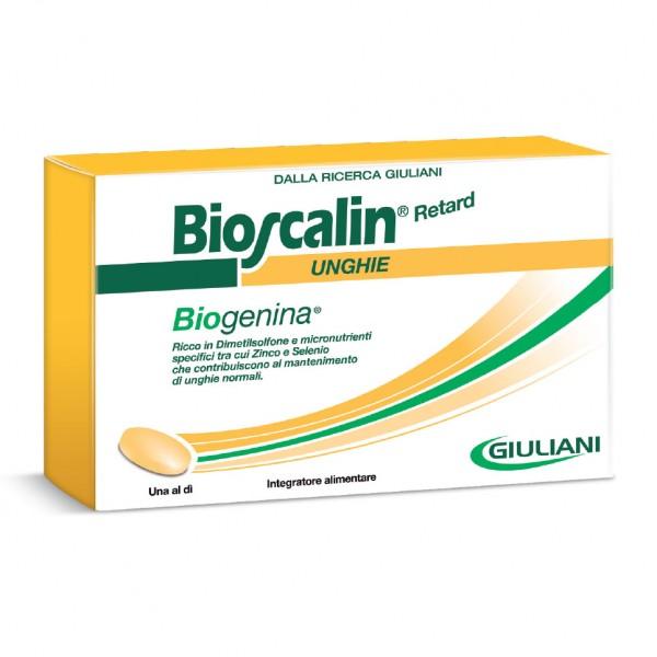 BIOSCALIN Biogenina Unghie 30 Compresse