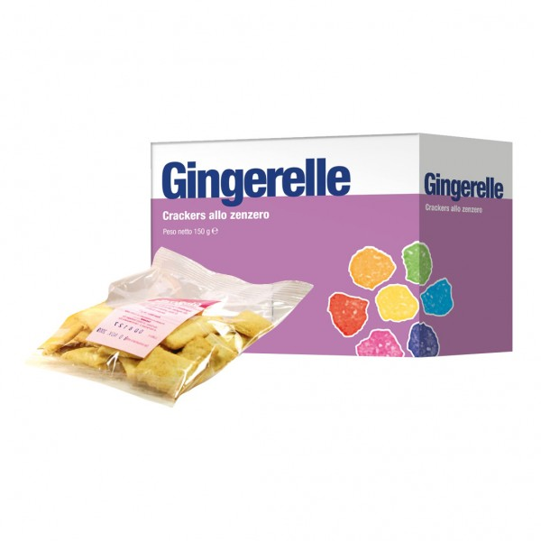GINGERELLE Crackers Zenz.150g