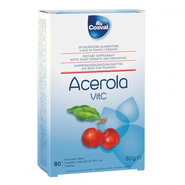 ACEROLA + Vitamina C 80 Tavolette 75g CO...