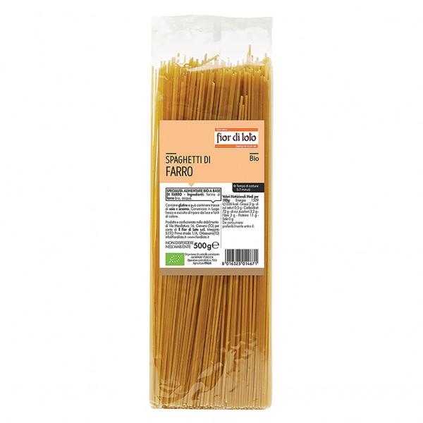 FdL Pasta Farro Spagh.Bi.500g