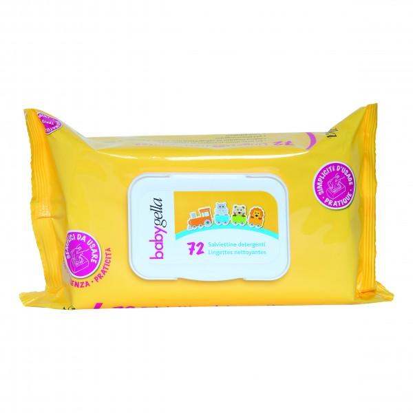 Babygella Salviettine Detergenti 72 pezz...