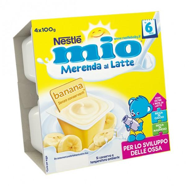 MIO Mer.Latte Banana 4x100g