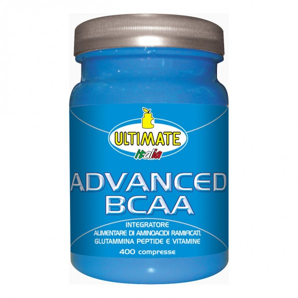 ADVANCED BCAA 400 Cpr 518g