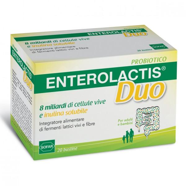 ENTEROLACTIS Duo - Integratore a base di...