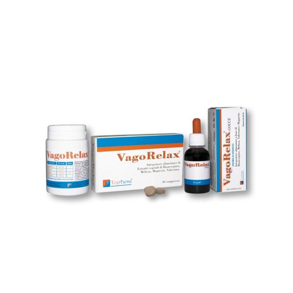 Vagorelax - Integratore alimentare per stress ed insonnia - 30 compresse